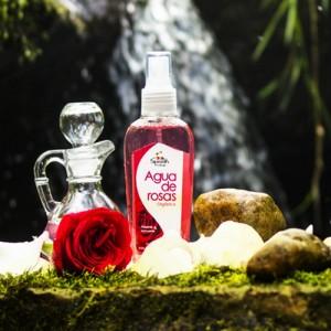 Agua de Rosas Orgánica
