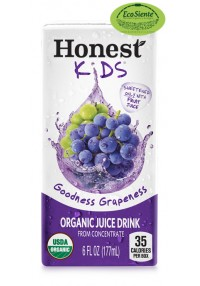 Jugos honest kids uva