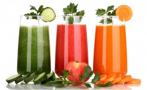 Smothies de frutas y hortalizas orgánicas